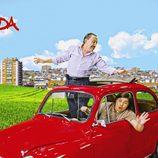 Mariano Peña y Óscar Reyes en la décima temporada de 'Aída'
