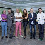 El equipo de 'Jugones' en su segunda temporada