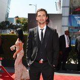 Jason Silva en la alfombra roja de los Creative Arts Emmy Awards 2013
