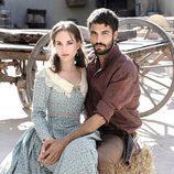 Silvia Alonso y Álex García en la tercera temporada de 'Tierra de lobos'