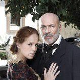 María Castro y Juan Fernández en la tercera temporada de 'Tierra de lobos'