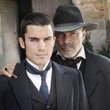 Álex González y Juan Fernández en 'Tierra de lobos'