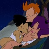 Fry, Leela y Amy