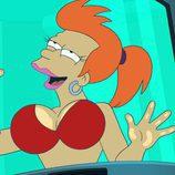 Fry en la octava temporada de 'Futurama'