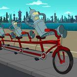Bender en la octava temporada de 'Futurama'