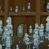 Clones de Bender en 'Futurama'
