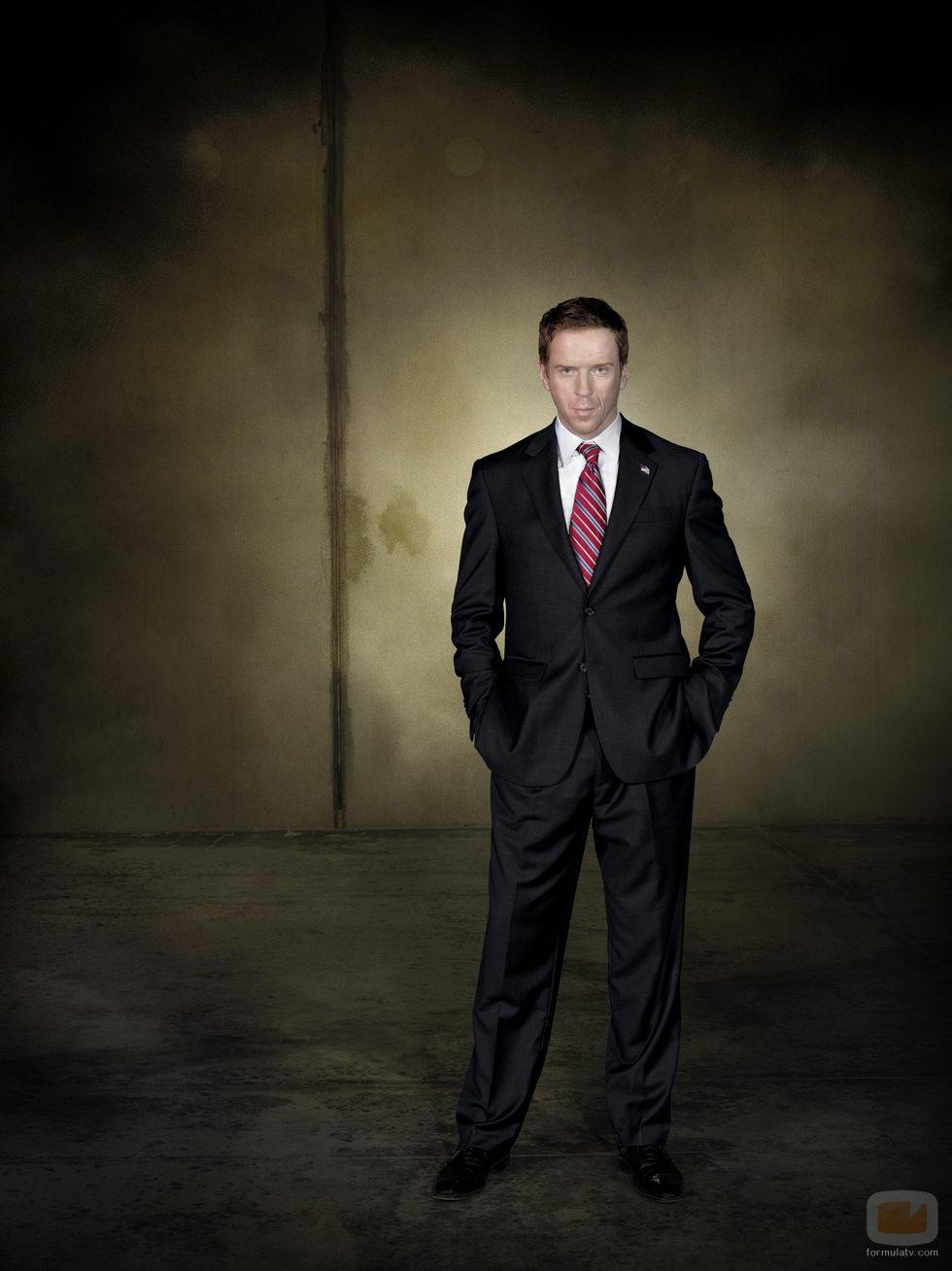 Damian Lewis (Nicholas Brody) en la tercera temporada de 'Homeland'