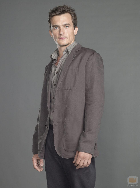 Rupert Friend es Peter Quinn en la tercera temporada de 'Homeland'