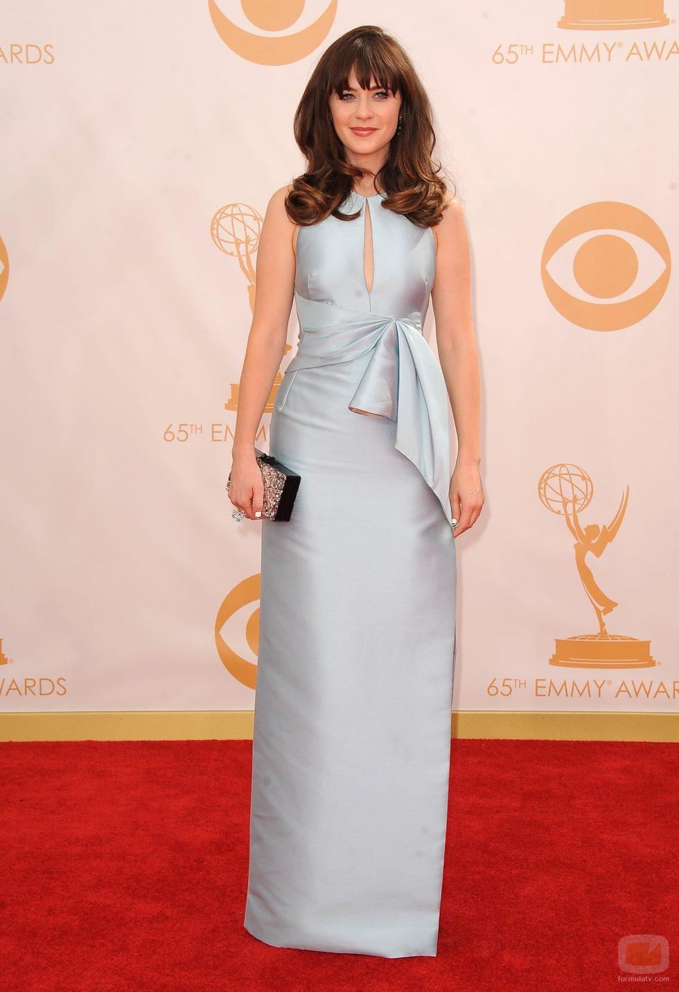 Zooey Deschanel Emmy 2013 Zooey Deschanel en la ...