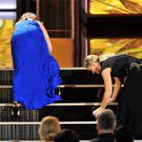 Tina Fey y Amy Poehler, por los suelos en los Emmy 2013