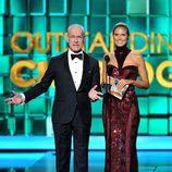 Heidi Klum y Tim Gunn en los Emmy 2013