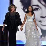 Diahann Carroll y Kerry Washington en los Emmy 2013