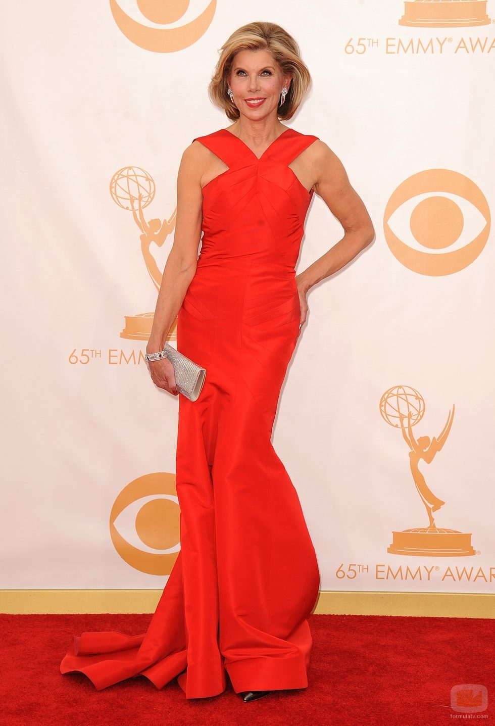 Christine Baranski at the emmys