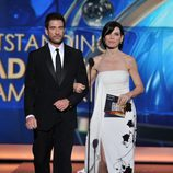 Julianna Margulies y Dylan McDermott en los Emmy 2013