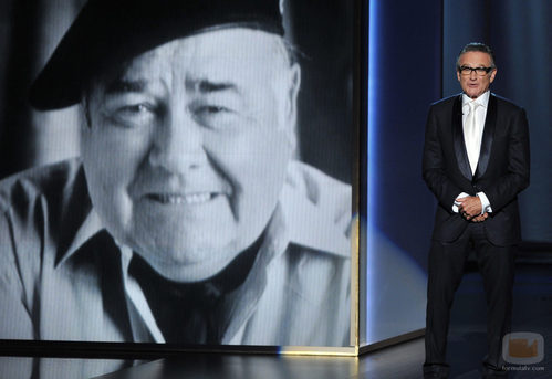 Robin Williams homenajea en los Emmy 2013 a su mentor Jonathan Winters