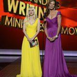 Anna Faris y Allison Janney en los Emmy 2013