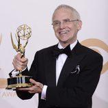 Don Roy King con el Emmy 2013 de 'Saturday Nigh Live'