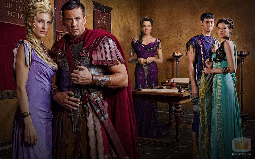 Los romanos de 'Spartacus: La venganza'