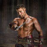 Liam McIntyre en 'Spartacus: La venganza'