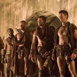Los rebeldes de 'Spartacus: La venganza'