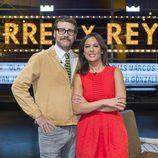 Joaquín Reyes y Mara Torres, presentadores de 'Torres y Reyes'