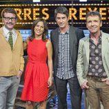 Joaquín Reyes, Mara Torres, Manel Arranz y Santiago Tabernero