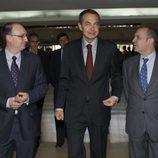 El presidente, José Luis Rodríguez Zapatero llega a '59 segundos'