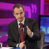 José Luis Rodríguez Zapatero en el programa '59, segundos'