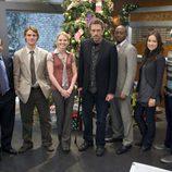 El doctor House con el resto de su equipo