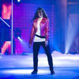 Vicky Gómez, ganadora de 'Fama, ¡a bailar!' baila en una foto promocional