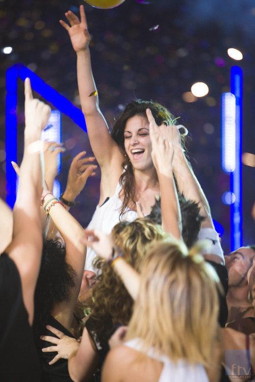 Vicky Gómez gana 'Fama ¡a bailar!'