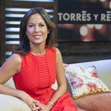 Mara Torres, presentadora de 'Torres y Reyes'