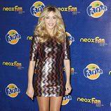 Anna Simón, presentadora de los Neox Fan Awards 2013