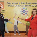 El doctor Carlos Tejero y la presentadora María Teresa Campos