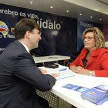 """Carlos Tejero y María Teresa Campos, en la campaña """"12 Meses"""" para vencer el ictus de"""