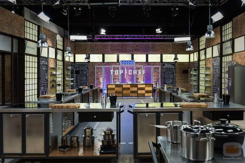 Vista general del plató de 'Top Chef'
