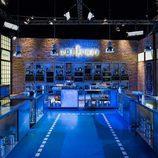 El plató de 'Top Chef', azul
