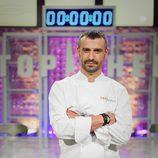 Antonio Canales es concursante de 'Top Chef'