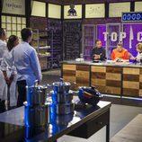 El jurado de 'Top Chef' examina los platos
