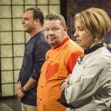 Ángel León, Alberto Chicote y Susi Díaz en 'Top Chef'
