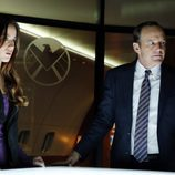Skye y Phil Coulson en 'Marvel's Agents of S.H.I.E.L.D.'