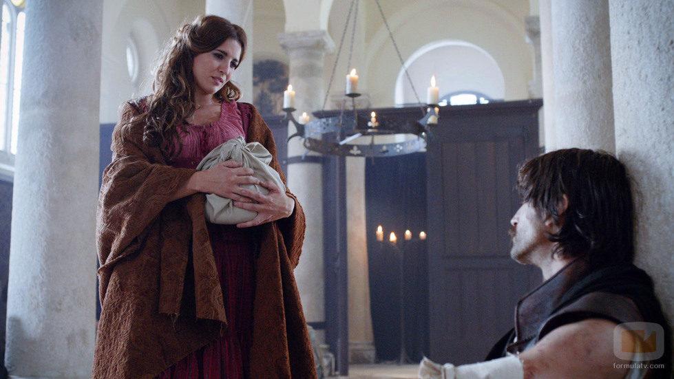 Lucía Jiménez y Aitor Luna en 'Alatriste'