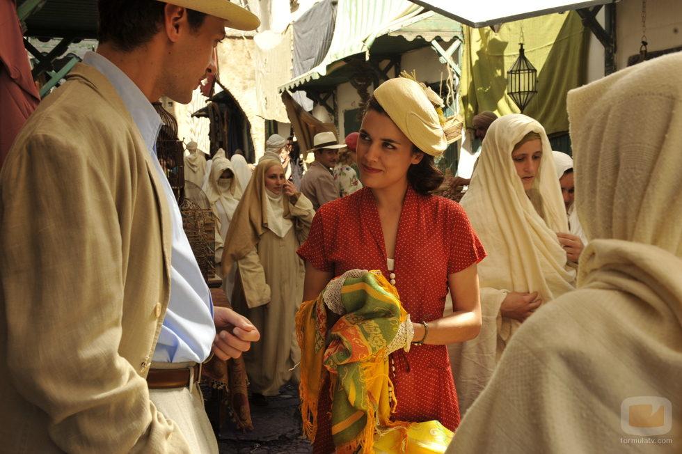 Sira Quiroga en 'El tiempo entre costuras'
