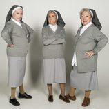 Tres ancianas de 'Los mayores gamberros' vestidas de monjas