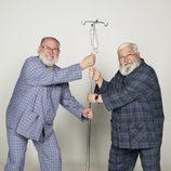 Dos ancianos con un gotero en 'Los mayores gamberros'