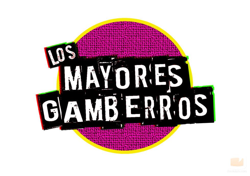 Logotipo de 'Los mayores gamberros' sobre fondo blanco