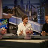 Pablo Motos y Tom Hanks graban 'El Hormiguero' en París