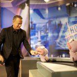 Tom Hanks juega con Trancas y Barrancas en 'El Hormiguero'