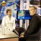 Pablo Motos entrevista a Tom Hanks en 'El Hormiguero' en París