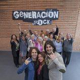 Melendi, Reichel Delgado y José de Castro en 'Generación rock'